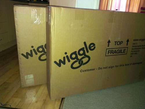 Boxes of wiggle goodness