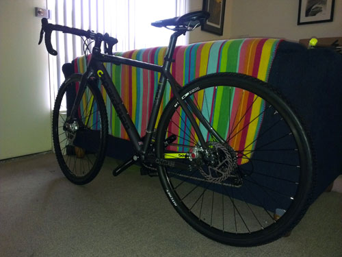 Nearly completed bike, only missing pedals