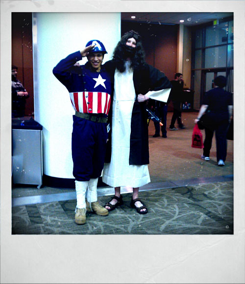 Jesus and Captain America