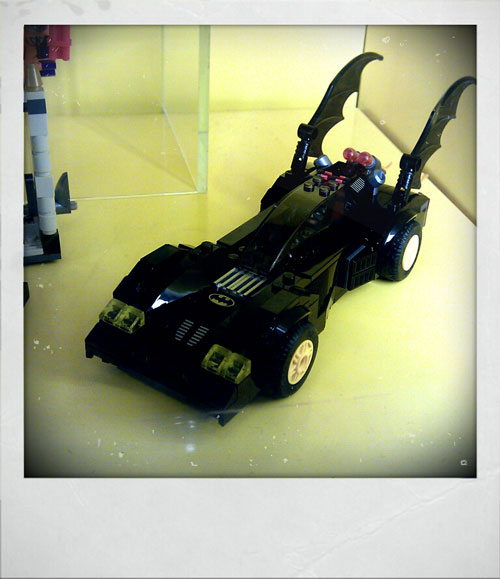 Batmobile made from Lego