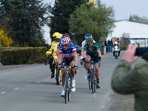 Breakaway group at Orchies