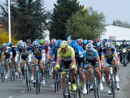 Peleton at Orchies