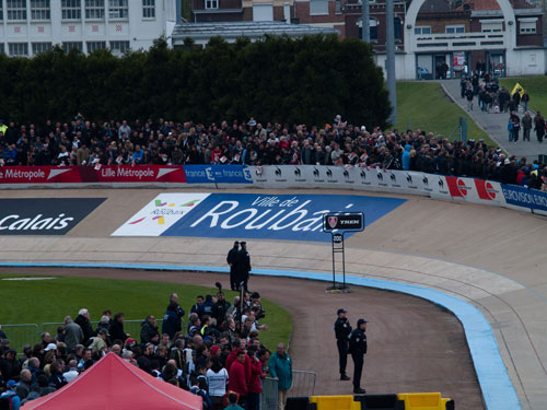 The Roubaix velodrome